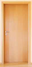 Acoustical Wood Door